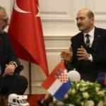 Bakan Soylu, Hırvat mevkidaşı Davor Bozinovic ile görüştü