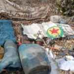 Bitlis'te PKK'nın kullandığı 10 sığınakta çok sayıda mühimmat ele geçirildi