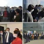 Canan Kaftancıoğlu ve CHP'liler mührü kırıp kaçak yapıya girdi