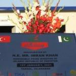 TİKA'nın Pakistan'da evsizler için konaklama tesisi açıldı