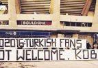 Türkiye için şoke eden pankart!
