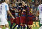 Barcelona, Malaga'yı tek golle yıktı