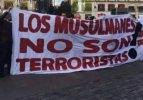 Madrid maçı öncesi o pankart! 'Müslümanlar...'