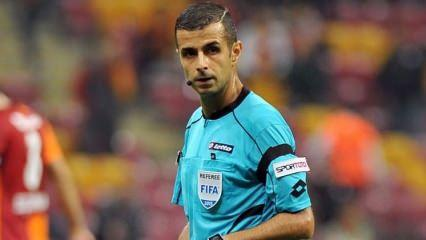Galatasaray-Trabzonspor maçının hakemi belli oldu!