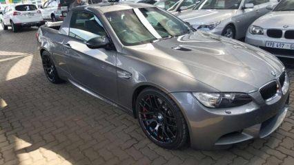 BMW pikap yaparsa...