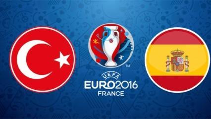 Türkiye İspanya maçı saat kaçta oynanacak?   İftardan sonra mı?