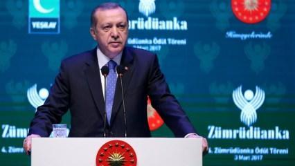Erdoğan'dan Almanya'ya: Daha işin başındayız!