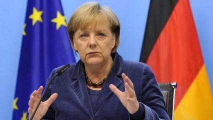 Merkel'den iptal edilen mitingle ilgili açıklama