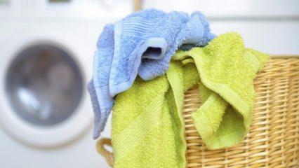 El ve yüz havluları nasıl yıkanır?