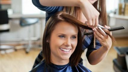 Daha önce duymadığınız saç kesim hileleri