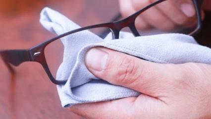 Çizilen gözlük camlarını nasıl onarırız? Gözlükteki çizikler nasıl giderilir? Gözlük çizilmesi