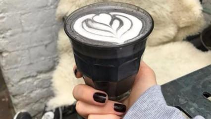 Sağlığın yeni trendi: Kömür latte