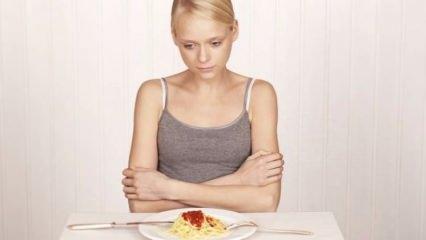 Anoreksiya nedir? Anoreksiya hastalığının gizli belirtileri...