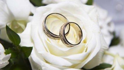 Rüyada evlenmek ne anlama gelir? Rüyada evlilik görmek nasıl tabir edilir?