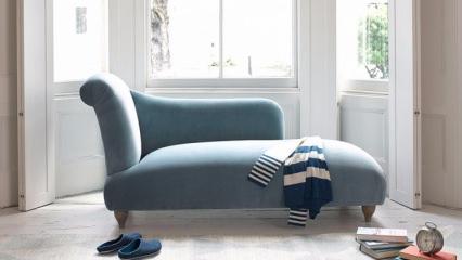 Uzanma koltukların nasıl dekore edilir?