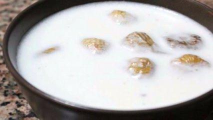 Kaynayan sütün içine kuru incir atıp içerseniz...