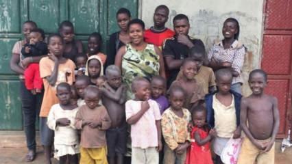 37 yaşında ama 38 çocuğu var!