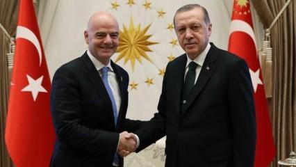 Beştepe'de sürpriz zirve! Erdoğan kabul etti...