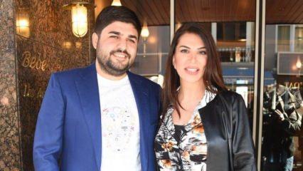 Ebru Yaşar'ın eşinden duygulandıran hediye