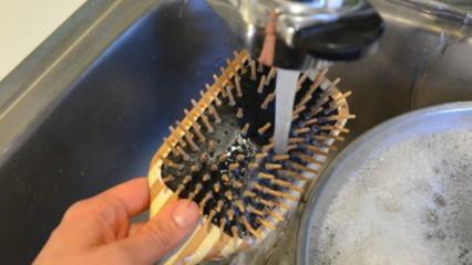 Fırça ve taraklar nasıl temizlenir?