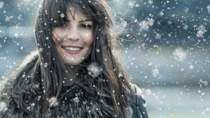 Kışın saç bakımı nasıl olmalıdır?