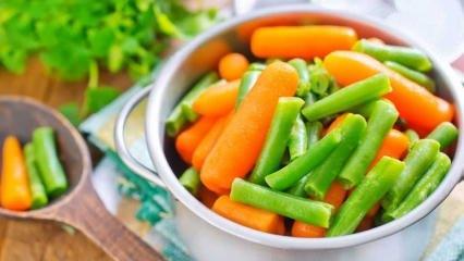 Sebze ve et nasıl saklanır?