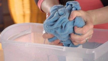 Yün kazaklar nasıl yıkanır?