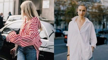 Oversize gömlek modası