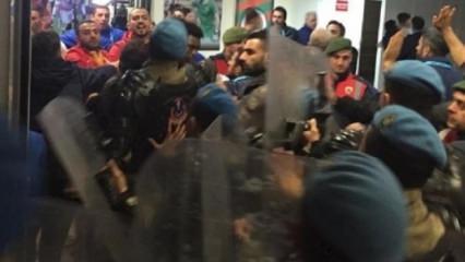 Süper Lig'de maç sonu şok kavga!