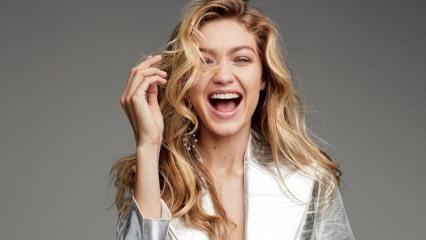 Gigi Hadid'in parlak saçlarının sırrı