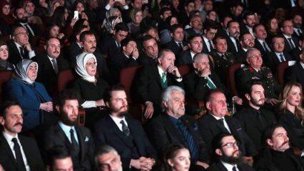 Erdoğan, Kut'ül Amare dizisinin tanıtımına katıldı