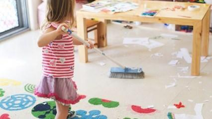 Oyuncak toplama alışkanlığı nasıl kazandırılır?