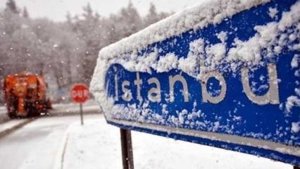 İstanbul'da kar ne zaman saat kaçta yağacak? Kar ne zamana kadar sürecek?