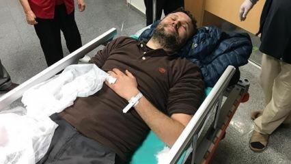 AA muhabiri  Afrin'de roket saldırısında yaralandı
