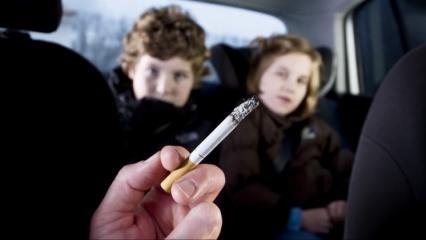 Sigaraya başlama yaşı 11'e düştü!