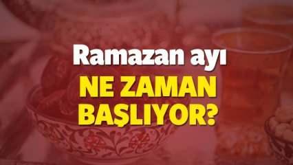 Bu sene Oruç ne zaman bitiyor? Diyanet Ramazan ayının son günü...