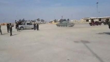Esed'in terör konvoyu böyle bombalandı
