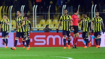 Fenerbahçe'ye zirve yolunda ağır darbe!