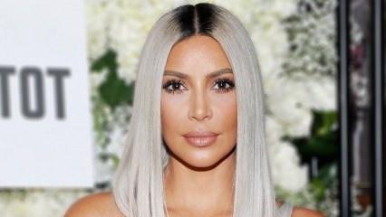 Kim Kardashian'ın saçlarının sırrı