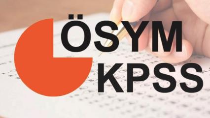 KPSS Ortaöğretim (lise) sınavı ne zaman yapılacak? (2018)