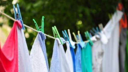En hızlı çamaşır kurutma yolları nedir?