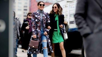 2018 İlkbahar-Yaz en şık sokak modası