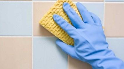 Banyo fayansları nasıl temizlenir?