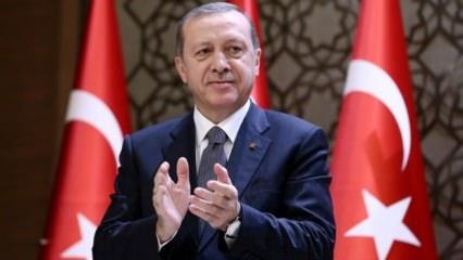 Cumhurbaşkanı Erdoğan'dan G.Saray'a tebrik