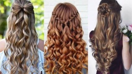 2018 mezuniyet saç modelleri