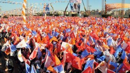 Seçim için bayrak vardiyası başladı
