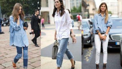 2018 kadın gömlek modası nedir?