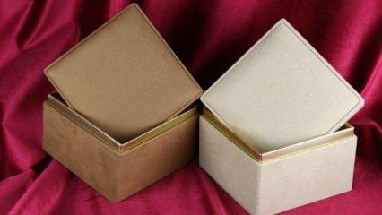 Dekoratif kutu nasıl yapılır?