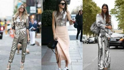 Modada metalik etkisi nedir?