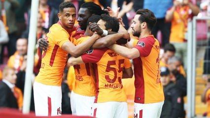 Rahat galibiyet! Galatasaray şampi...